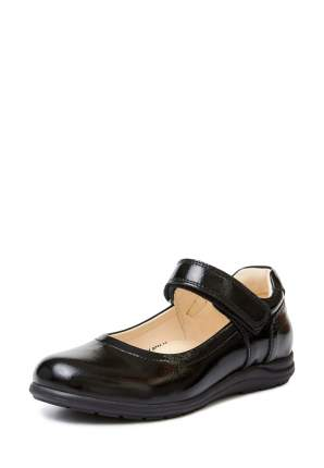 Туфли для девочек Alessio Nesca, цв. черный, р-р 33