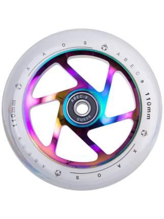 Колесо для самоката Xaos Fan Rainbow 110 мм разноцветное