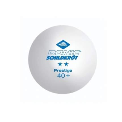 Мячи для настольного тенниса Donic Prestige 2*, белый, 6 шт.