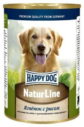 Консервы для собак Happy Dog NaturLine, ягненок, рис, 20шт по 400г