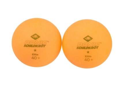 Мячи для настольного тенниса Donic Elite 1*, оранжевый, 6 шт.