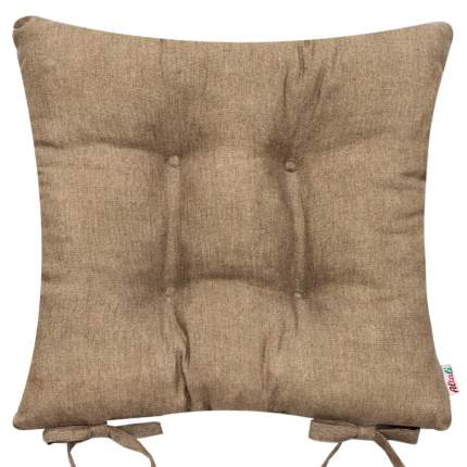 Декоративная подушка на стул с завязками Капучино, Altali, 41x41см, P05-Z007/1