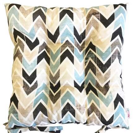 Декоративная подушка на стул с завязками Лайф блюз, Altali, 41x41см, 705-1886/1