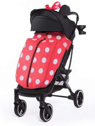 Прогулочная коляска Dearest 818 Plus Yoya Premium Set Black Minnie с накидкой на ножки