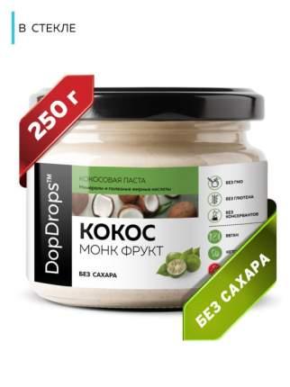 Паста Кокосовая DopDrops (Урбеч из мякоти кокоса) сладкая, 250 г