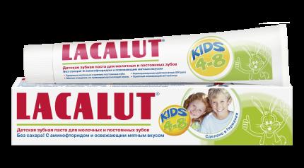Детская зубная паста LACALUT kids 4-8 50 мл