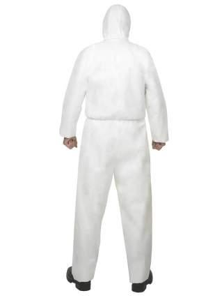 Одноразовый защитный комбинезон A40 с капюшоном, р-р XXXL, белый, 65 г/кв.м., KLEENGUARD