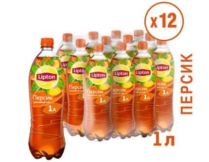 Чай Lipton  Персик 12шт по 1л