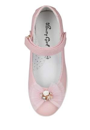 Туфли детские Honey Girl, цв. розовый р.25