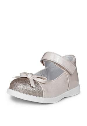 Туфли для девочек Honey Girl, цв. бежевый, р-р 24