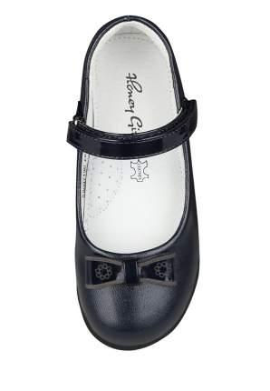 Туфли для девочек Honey Girl, цв. темно-синий, р-р 29
