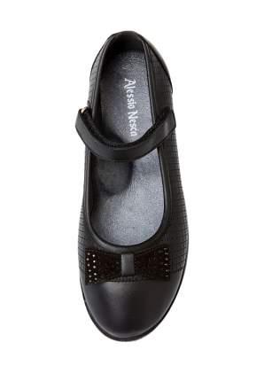 Туфли для девочек Alessio Nesca, цв. черный, р-р 35