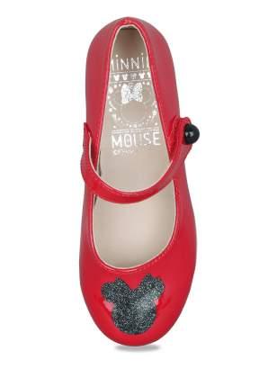 Туфли для девочек Minnie Mouse, цв. красный, р-р 24