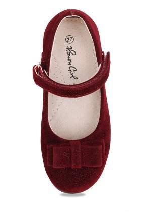 Туфли для девочек Honey Girl, цв. бордовый, р-р 29