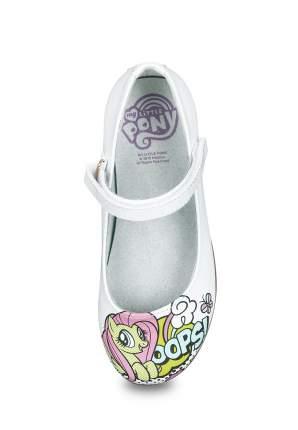 Туфли для девочек MY LITTLE PONY, цв. белый, р-р 29