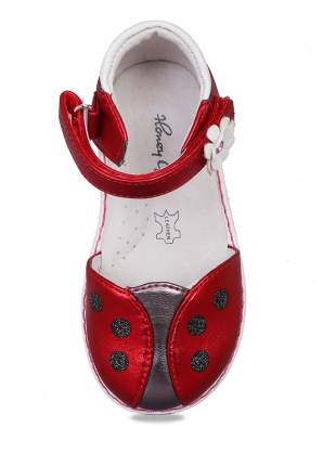Туфли детские Honey Girl, цв. красный р.21