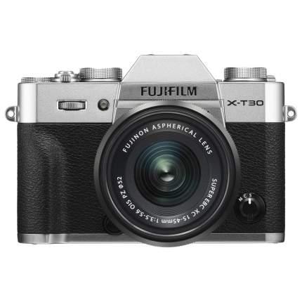 Фотоаппарат цифровой компактный FUJIFILM X-T30 Kit 15-45mm цвет серебристый