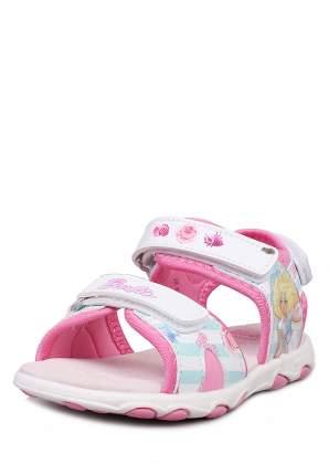 Сандалии детские Barbie, цв. разноцветный р.25