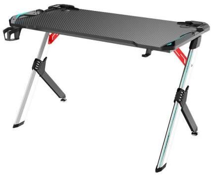 Профессиональный игровой стол Raybe FM-JX-R алюминий, карбон, подсветка