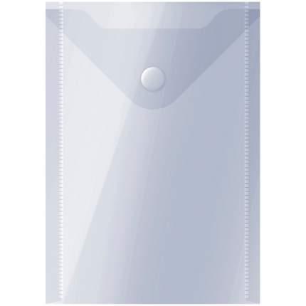 Папка-конверт на кнопке, А6, 150 мкм, полупрозрачная
