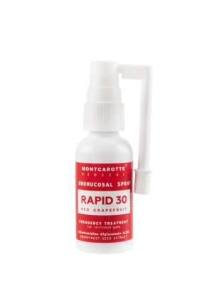 Cпрей антисептик для полости рта РАПИД 30 Красный Грейпфрут