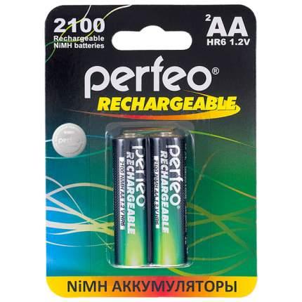 Аккумуляторная батарея Perfeo AA2100mAh 2 шт