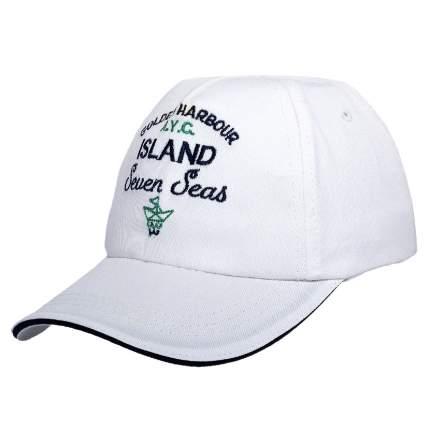 Бейсболка Chicco надпись Island для мальчиков р.52 цвет белый