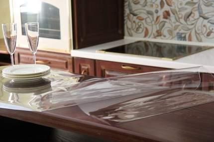 Пленка ПВХ 140*80 Гибкое стекло. Домовой Прошка.