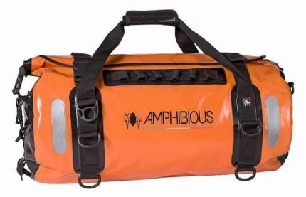 Сумка на мотоцикл Amphibious Voyager 45 литров (Оранжевый)