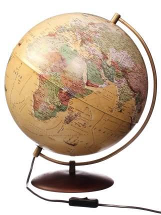 Глобус Globen Антик, на подставке из натурального дерева, с подсветкой, d320
