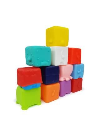 """Набор игрушек для ванной """"Забавные кубики"""", 12 штук"""