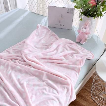 Плед детский Роджер, цвет: розовый, 100х150 см