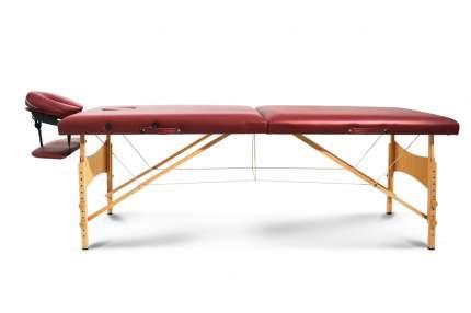 Массажный стол складной Start Line Delux burgundy