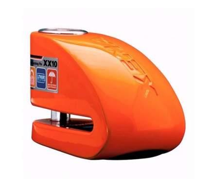 Замок на диск с сиреной Xena XX10 (Оранжевый)