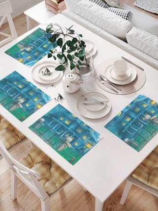 Комплект салфеток для сервировки стола «Страшная ночевка» (32х46 см, 4 шт.)