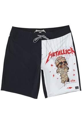 Бордшорты Billabong X Metallica Master Of Puppets, black, 34 EU