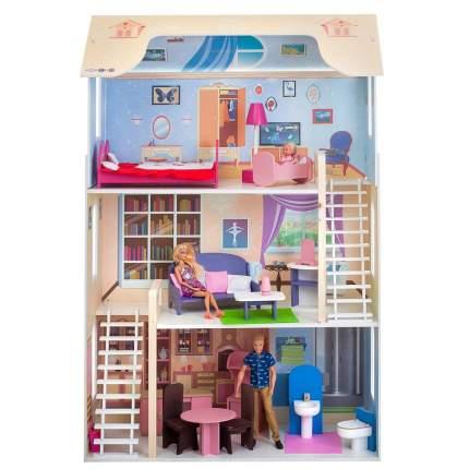 Кукольный домик Paremo шарм с мебелью