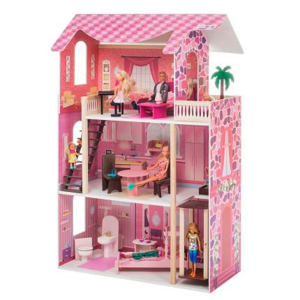 Кукольный домик Paremo монте роза с мебелью