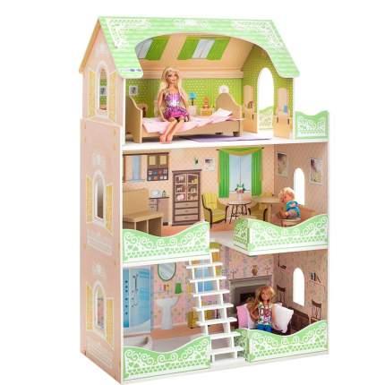 Кукольный домик Paremo луиза виф с мебелью
