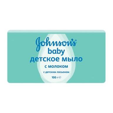 Мыло johnson's baby с экстрактом натурального молочка, 100г