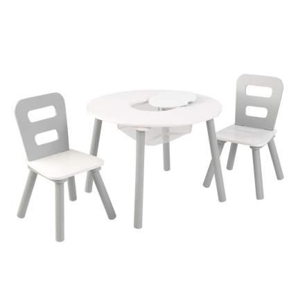 Стол + 2 стула Сердце KidKraft 26166_KE
