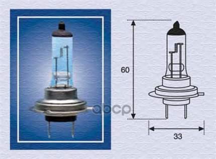 Лампа (H7) 55w 12v Px26d Галогенная Стандарт MAGNETI MARELLI 002557100000