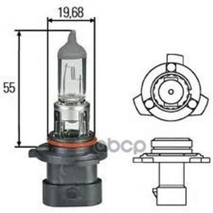Лампа (Hb4a) 12v 51w P22d Ближнего Света Галогенная HELLA 8GH 005 636-201
