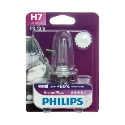 Лампа 12 В H7 55 Вт Vision Plus Галогенная Блистер Philips 12972vp(Бл.) Philips 12 972 VP
