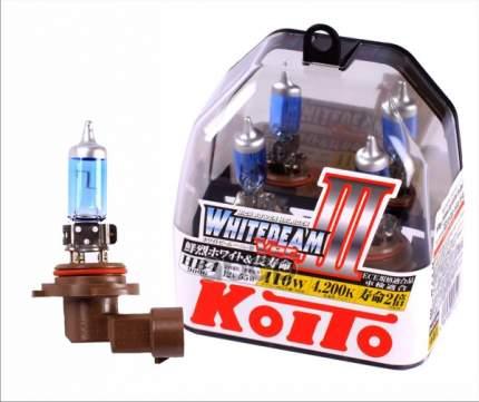 Лампа Koito Whitebeam, Комплект 9006 (Hb4) 12v 55w 110w Пластиковая Упаковка KOITO P0757W