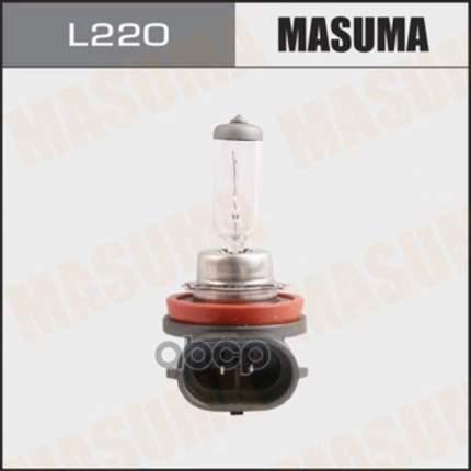 Лампа Галогенная H11 12v 55w Masuma L220