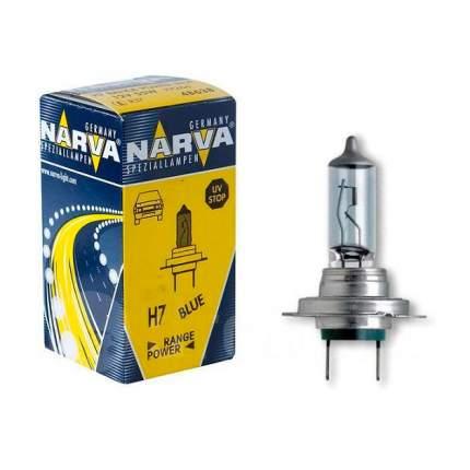Лампа Галогенная H7 12v 55w Px26d Range Power Blue 3700k Narva 48638RPB