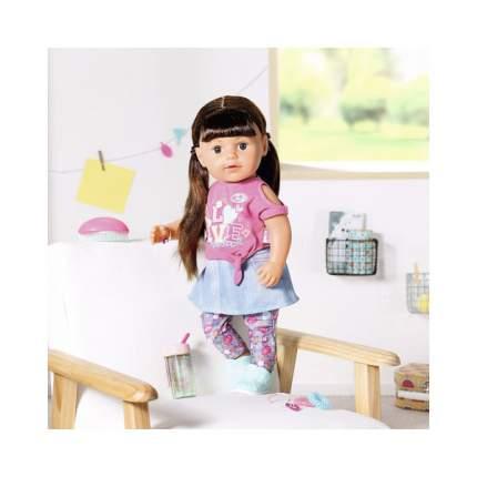 Кукла Zapf Creation Baby Born Сестричка брюнетка 827-185, 43 см