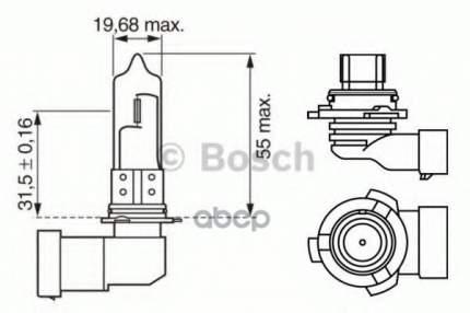 Автолампа Bosch 1987302155