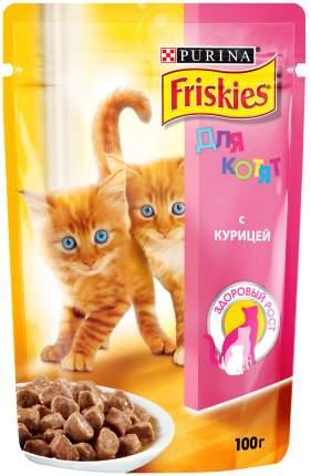 Влажный корм для котят Friskies, с курицей в подливе, 85г
